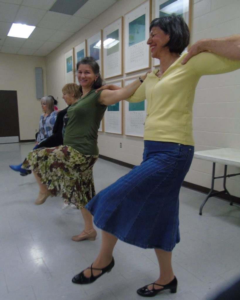 International Folk Dancing at Jack Purcell Community Centre in Ottawa