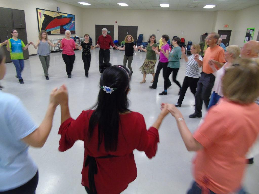 International Folk Dancers at Jack Purcell Community Centre in Ottawa